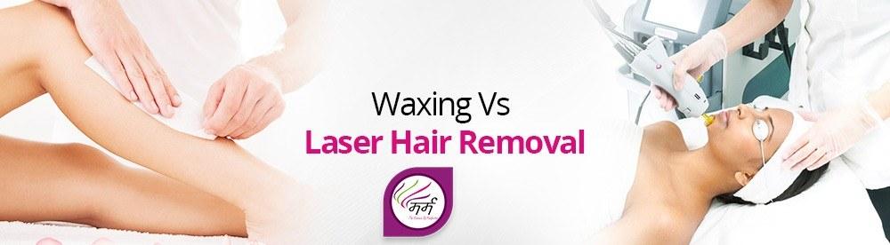 مقایسه اجمالی واکس و دستگاه لیزر برای رفع موهای زائد