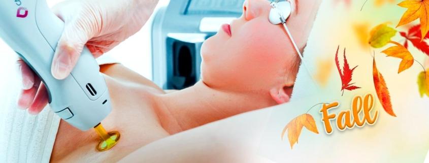 چرا باید در پاییز در دستگاه لیزر برای رفع موهای زائد دایود کمک گرفت ؟