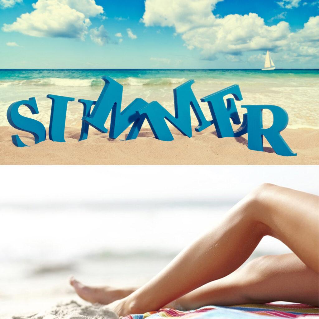 فصل تابستان و استفاده از دستگاه لیزر برای حذف موهای زائد